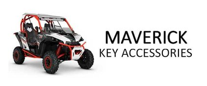 Can-am Maverick Key Accessories For Sale