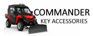 Can-am Commander key accessories for sale